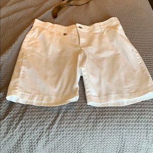 White Lee Shorts